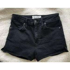 Free People High Waist Stretchy Shorts